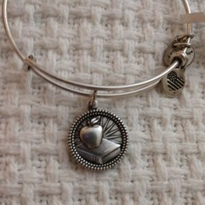 "ALEX AND ANI'S ""TEACHER"" APPLE  BOOK BRACELE NWT!!"